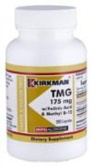 Kirkman's TMG 175 mg with Folinic Acid & B-12 - Hypoallergenic